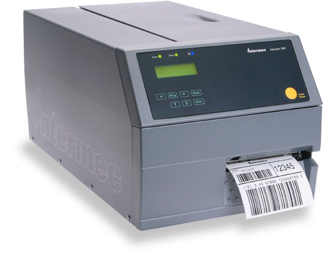 Intermec PX6i: (PX6C010000000020) Printer, Thermal Transfer / Direct  Thermal Printer, 203 dpi, USB, Serial, Ethernet, Universal Firmware, 32MB  Dram /